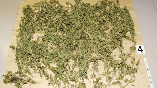 Přes tři kilogramy marihuany našli kriminalisté při domovní prohlídce v bytě  muže z Hranic