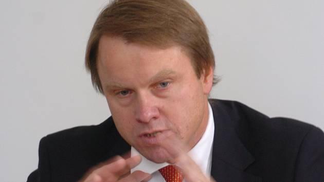 Předseda Strany zelených Martin Bursík.