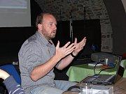 Cestovatel a režisér dokumentárních filmů Petr Horký.