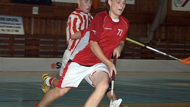 Florbalisté dostali od Prostějova pořádnou nakládačku, ale v dalším utkání rozmetali Horní Suchou.