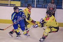 Hokejisté HC ZUBR Přerov porazili HC Uničov.
