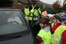 Děti kontrolovaly řidiče.