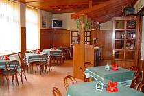 Hotel - Restaurace Slavia v Hranicích.