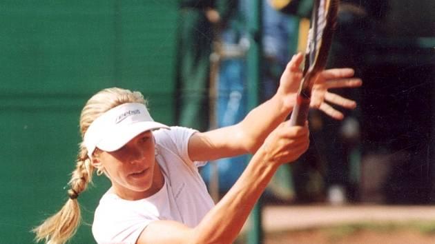 Takto vypadala součaná hvězda českého tenisu Nicole Vaidišová v době, kdy zářila na mistrostovství světa družstev do 14 let.