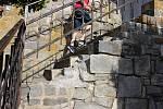 Židovské schody v Hranicích