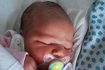 Anička Jíňová, Hranice, narozena 27. listopadu 2011 v Přerově, míra 50 cm, váha 3 500 g
