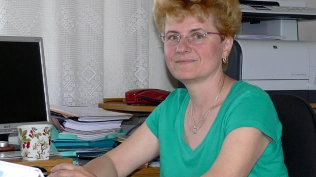 Hana Bezděková, starostka obce Milotice nad Bečvou
