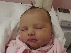 Eliška Březovská, Lazníčky, narozena dne 11. listopadu 2014 v Přerově, míra: 49 cm, váha: 3602 g