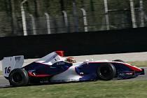 Tomáš Pivoda testoval Formuli Master na  okruhu v italské Monze.