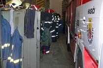 Zázemí hranických hasičů nazvat důstojným  moc nelze. Ilustrační foto