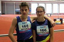 Karel Brychta a Barbora Odstrčilová. Ilustrační foto