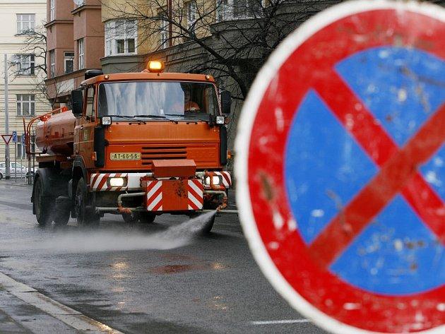 Strojní čištění v Prostějově skončilo.