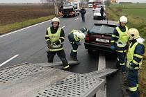 Nehody v hustém provozu u Kokor se stávají poměrně často.