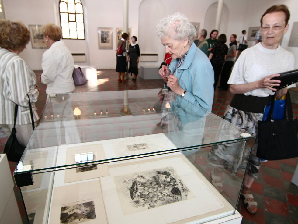 Unikátní soubor Maxe Švabinského představuje výstava v hranické Synagoze.