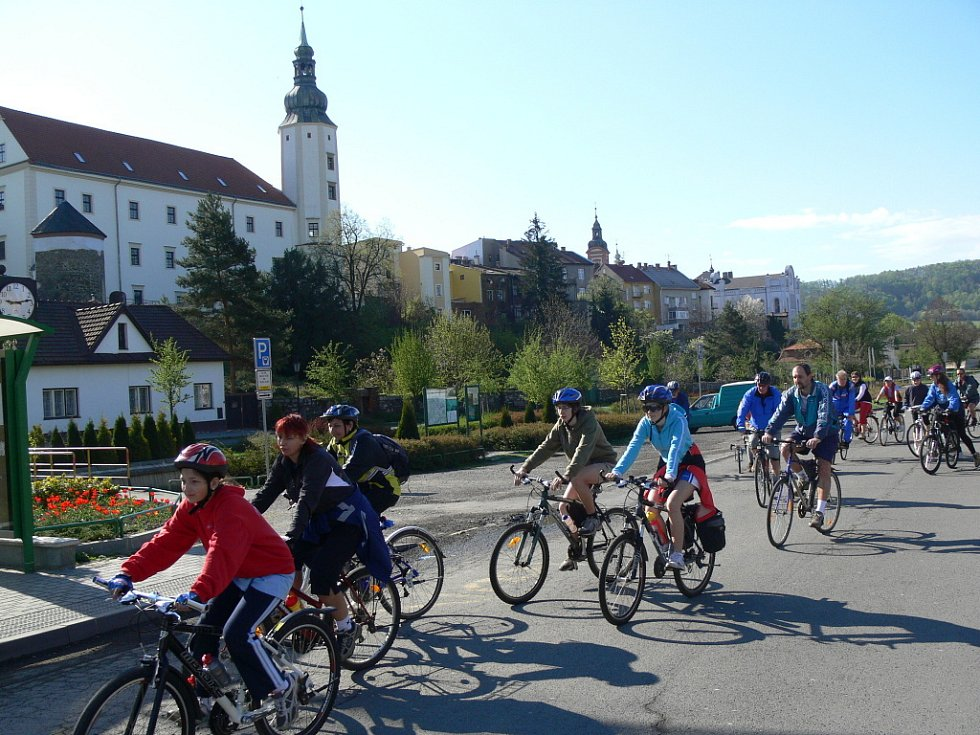 Cyklisté vyrazili na Potštát v rekordním počtu