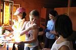Mraveniště - tradiční pobytový tábor hranického Domečku ve Valašské Bystřici