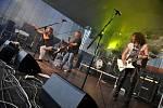 Festival Rockové Hranice na nádvoří Divadla Stará střelnice