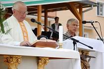 Mše svatá zahájila sobotní oslavy výročí padesáti let od založení Domova pro seniory v Radkově Lhotě.