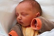 Filip Janoušek, Přerov, narozen dne 13. prosince 2012 v Přerově, míra: 47 cm, váha: 3 010 g