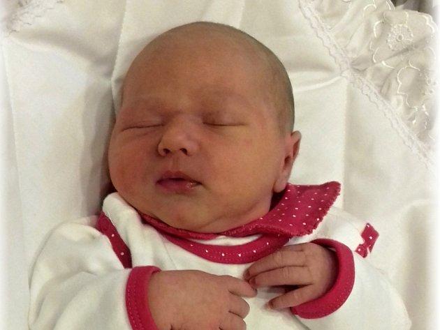 Mia Ann Mertová, Majetín, narozena dne 18. listopadu 2016 v Přerově, míra: 50 cm, váha: 3690 g
