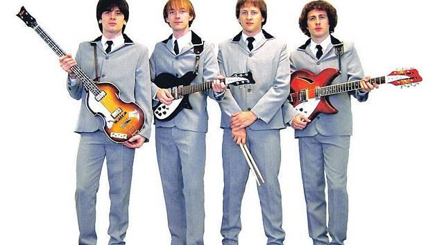 Kapela, která zahraje nestárnoucí hity legendární kapely Beatles.