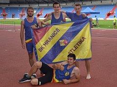 Hraničtí atleti uspěli na mistrovství Moravy a Slezska kategorií od dorostu po dospělé