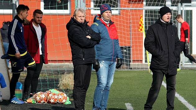 Fotbalisté Tatranu Všechovice