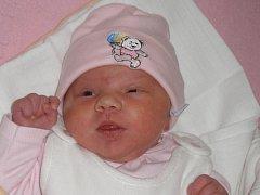 Sára Poštulková, Drahotuše,  narozena 3. března 2012 v Olomouci, míra 53 cm váha 4 270 g