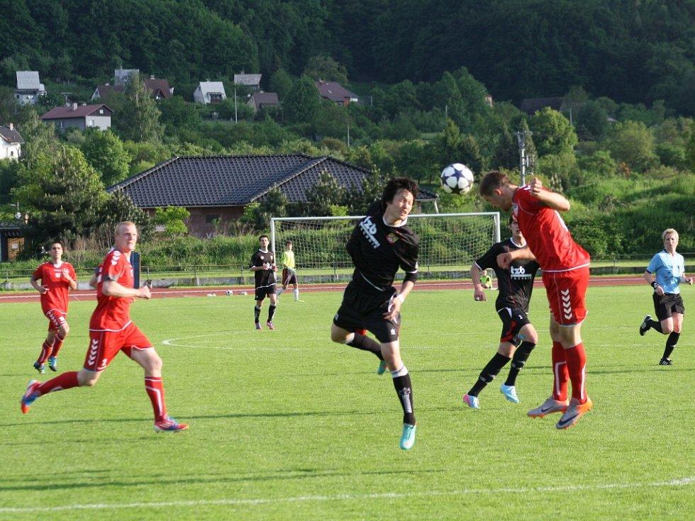V sobotním divizním zápase nepadl ani jeden gól.
