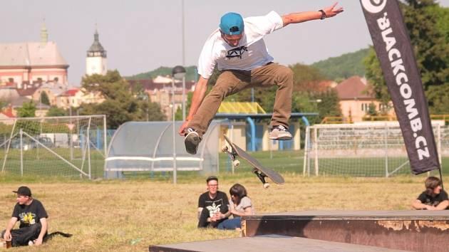 Skateboardové závody v Hranicích. Ilustrační foto