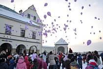 Dětský vánoční jarmark v Hranicích a vypouštění balónků s přáními pro Ježíška