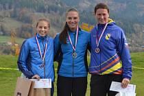 Hranická atletka Klára Úlehlová doběhal třetí mezi ženami na mistrovství Moravy a Slezska v krosu.