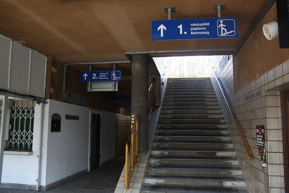 Nádražní budova v Teplicích nad Bečvou by se měla v příštích letech proměnit v turistické středisko.