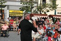 Vyvrcholením Svatojakubských hodů v Lipníku nad Bečvou byl nedělní koncert Ládi Kerndla