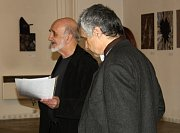 Vernisáž výstavy obrazů Igora Minárika v hranické Synagoze