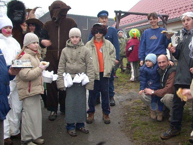 Jednou z prvních obcí, kde vodili medvěda, byl Kyžlířov.