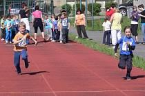 Atletické přebory mateřských škol v Hranicích