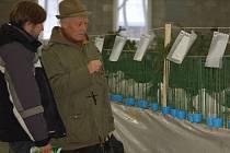 Mnozí chovatelé výstavu navštívil za účelem nákupu.