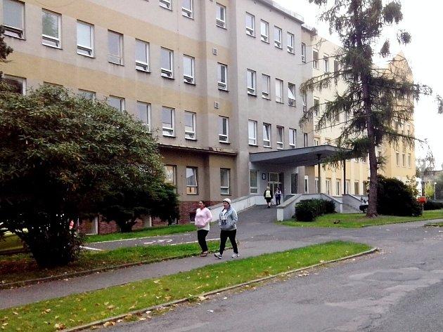 Chebská nemocnice.