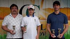 Medailisté prvního prázdninového turnaje v Radíkově Nedělní devítka