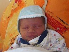 Ondřej Ponížil, Přerov, narozen dne 28. května 2013 v Přerově, míra: 46 cm, váha: 2366 g
