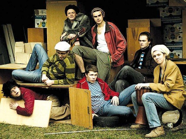 Mladá prostějovská reggae kapela Zion Squad.