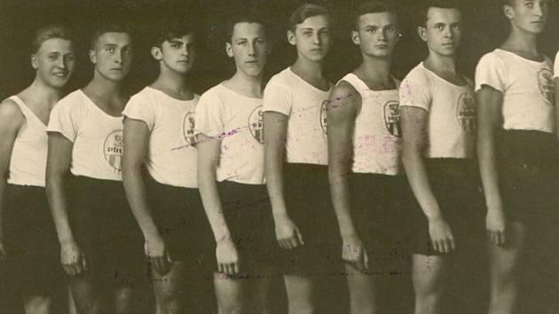 Dorostenci SK Přerov v roce 1926 získali titul mistra ČSR.