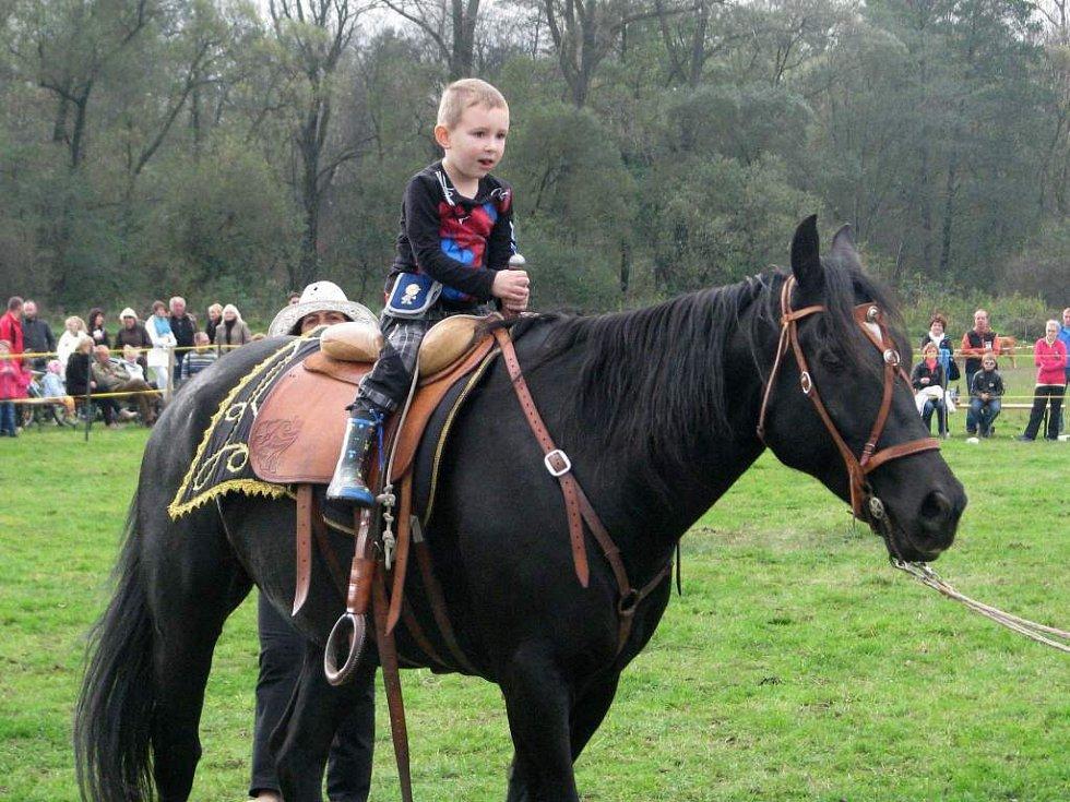 Den koní s Václavem Vydrou na Ranči na Kačeně