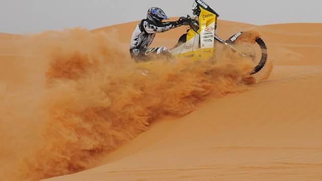 Moře písku čeká na jezdce v Jižní Americe.