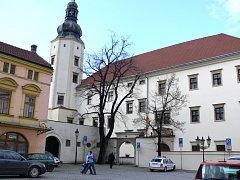 Hranický zámek, sídlo mětského úřadu. Ilustrační foto
