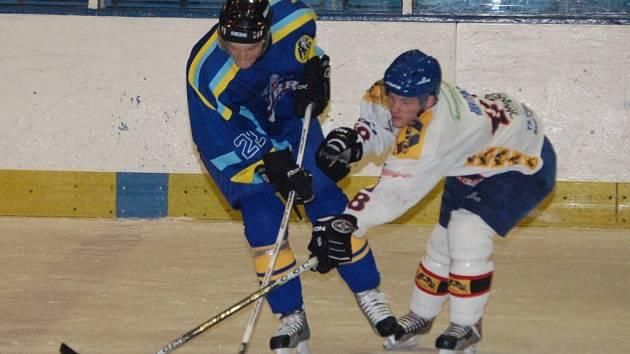 Přerovským hokejistům se proti Bobrům nedařilo.