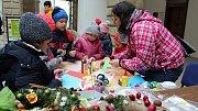 Dětský vánoční jarmark ve dvoraně hranického zámku