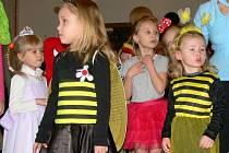 Dětský karneval v Galerii M+M v Hranicích