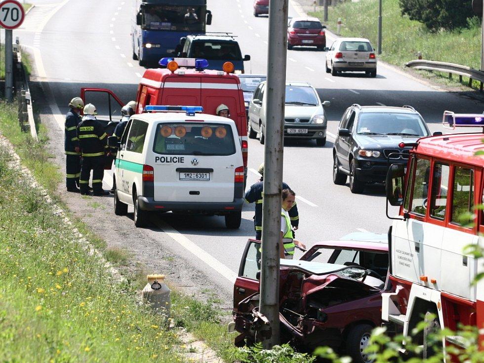 Důvodem nehody byl mikrospánek řidiče.